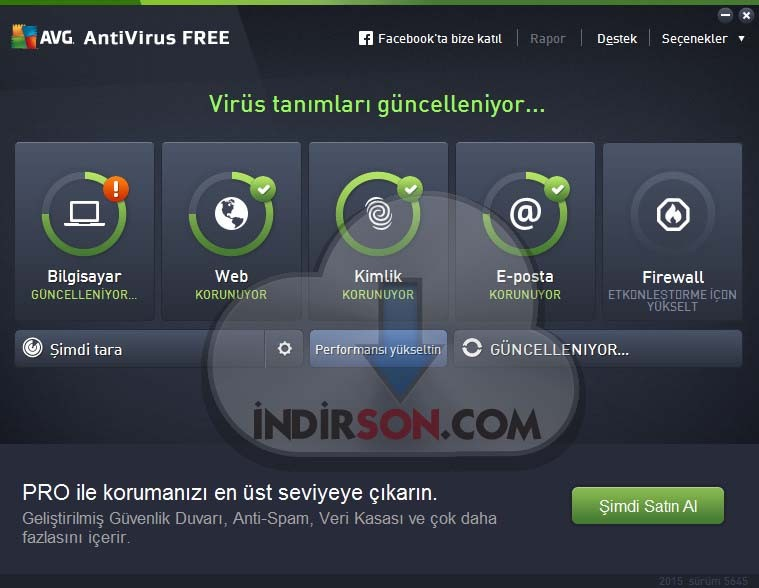 AVG AntiVirus Free 2015 32 Bit & 64 Bit