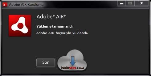 Adobe AIR ücretsiz download indir