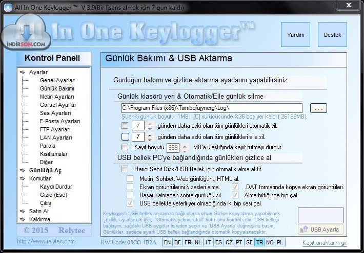 All In One Keylogger download