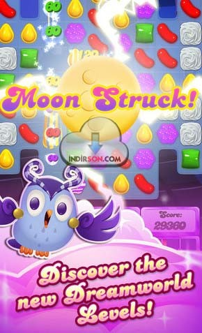 Candy Crush Saga (iOS) sürümü