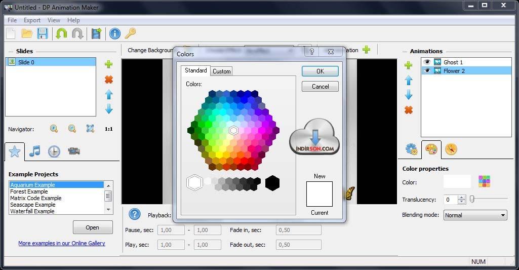 DP Animation Maker animasyon programı
