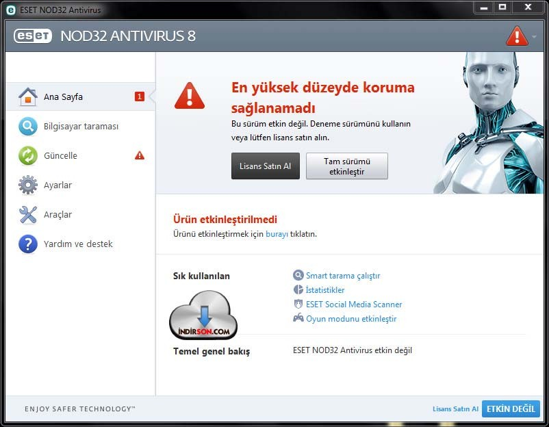 Esed Nod32 Antivirüs