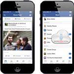 Facebook Mobil ios