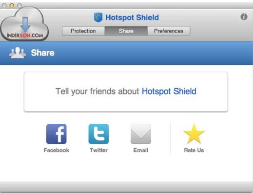 Hotspot Shield (Mac) download