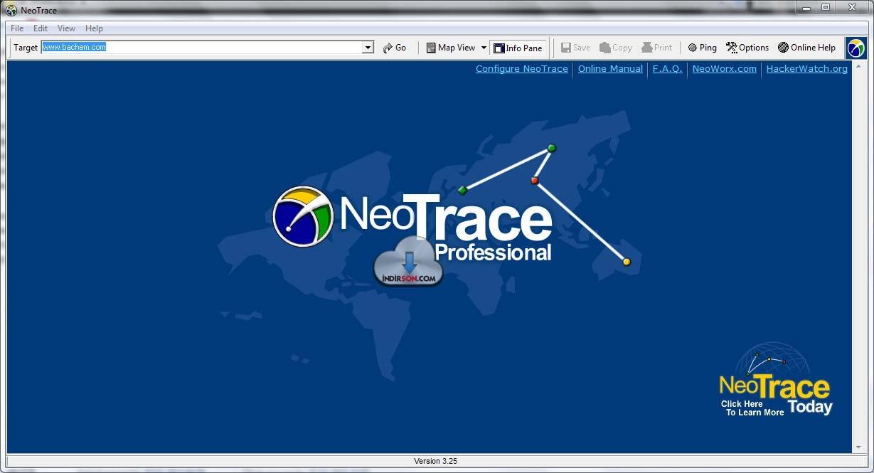 IP Tespit Programı Haritalı