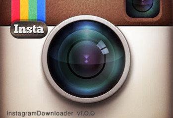 Instagram downloader logo