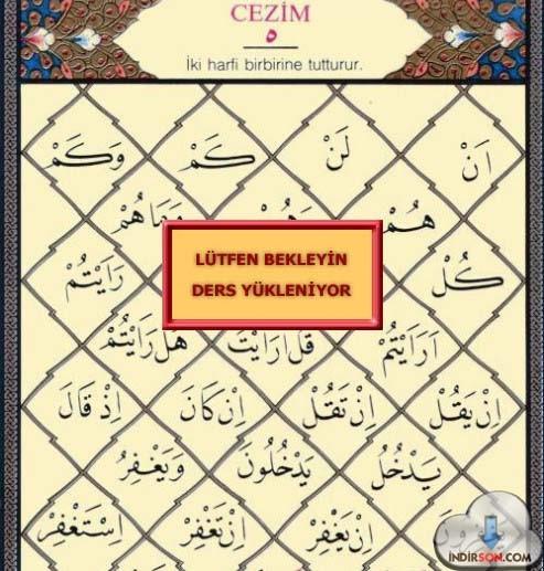 Kur'an-ı Kerim Öğrenme okuma