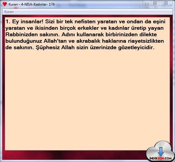 Kur'an Okuma-Öğrenme