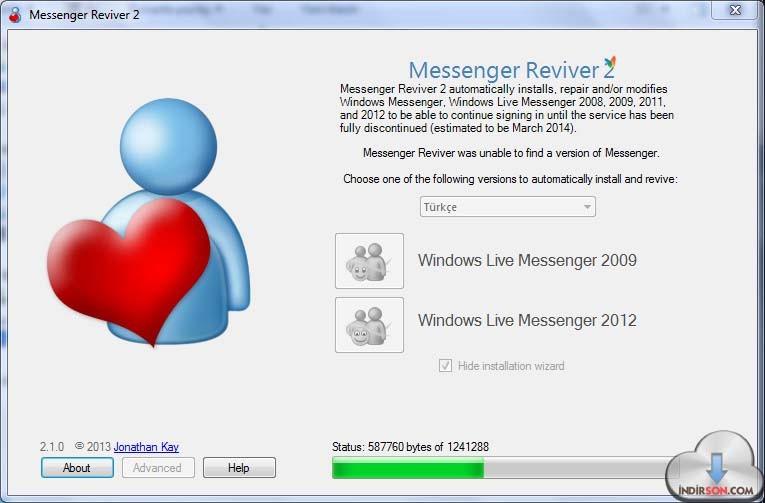 Messenger Reviver indir
