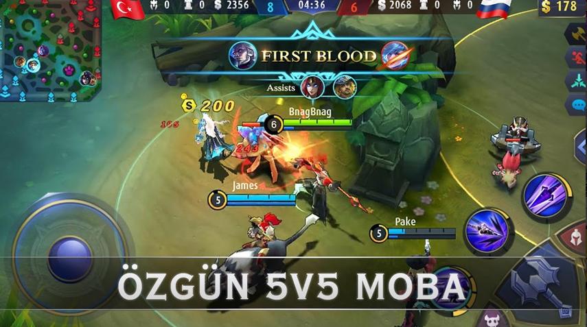 Mobile Legends Apk indir v1.5.64.61 (Hile: Skin) Bang Bang