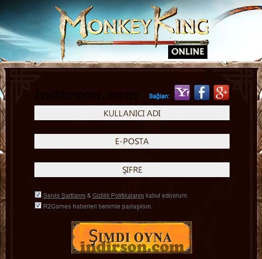 Monkey King online oyun
