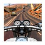 Moto Rider Go Highway Traffic