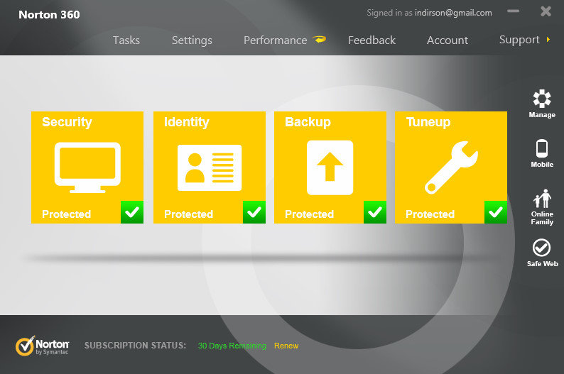 Norton Internet Security 20.2.0.19 son sürüm indir