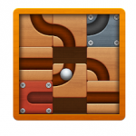 Roll the Ball Slide Puzzle