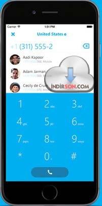 Skype (iOS) ücretsiz arama