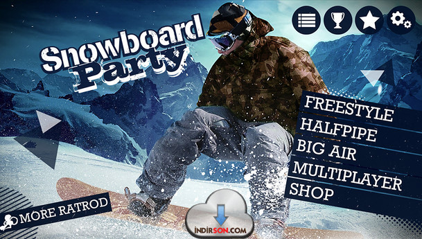 Snowboard android
