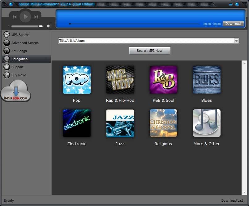 Speed MP3 Downloader müzik modları