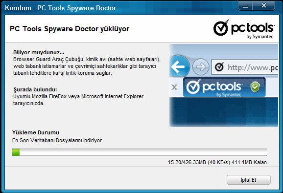 Spyware Doctor 9.0.0.2308 son sürüm indir