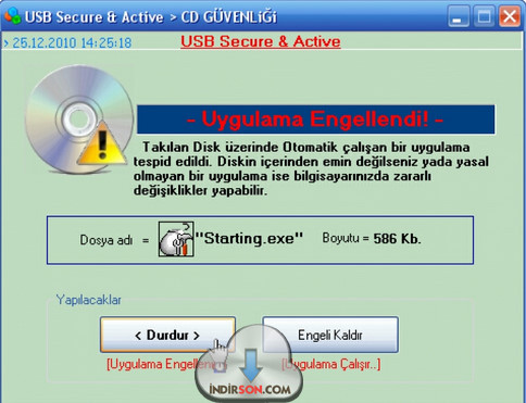 USB Secure Active