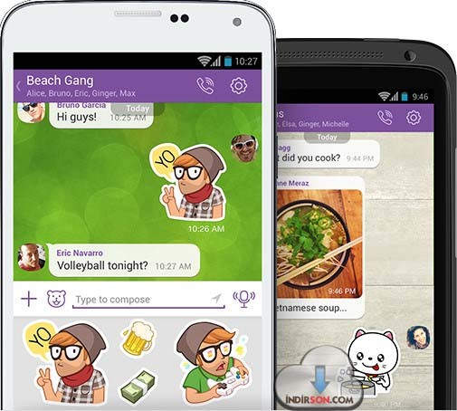 Viber Android 2