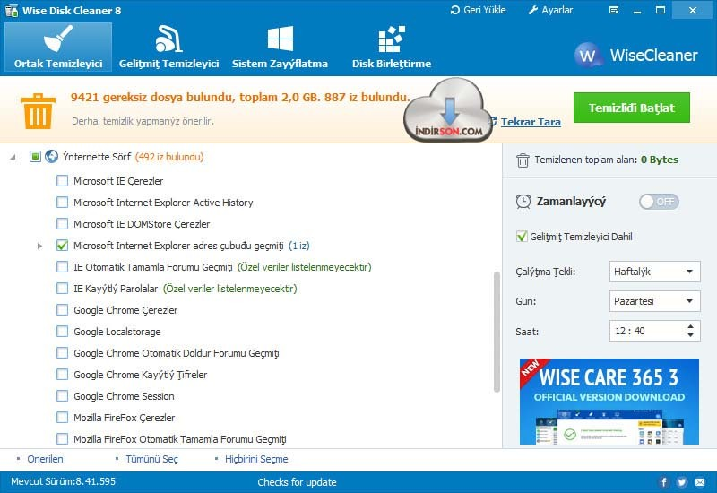 Wise Disk Cleaner Free4