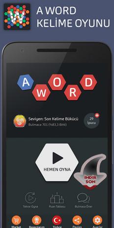 android kelime oyunu