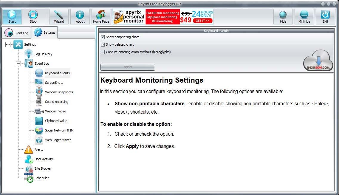 Keylogging Download