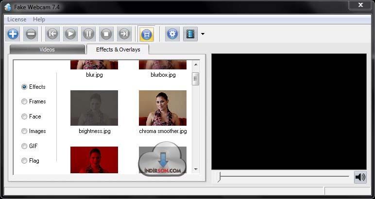 fake web cam download