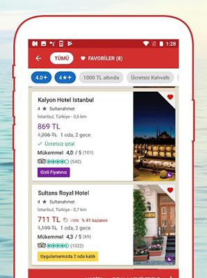 Hotels.com Apk indir Android - indirSon